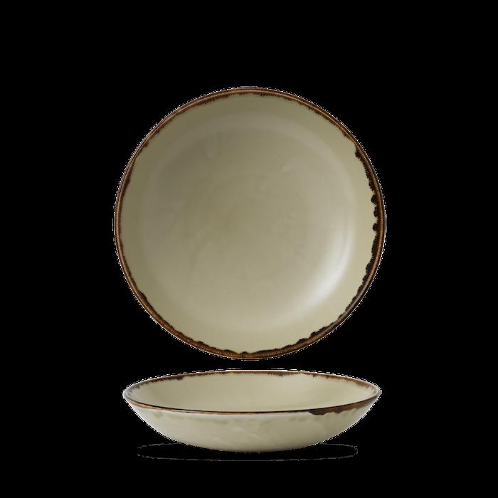 Dudson Harvest Linen coupe bowl 24,8 cm