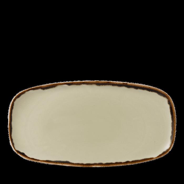 Dudson Harvest Linen chefs' oblong plate 29,8 x 15,3 cm