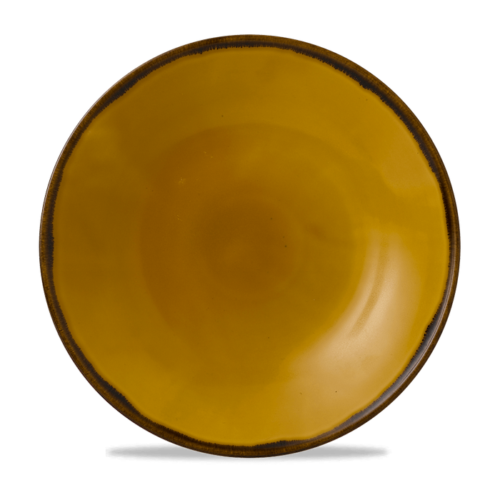 Dudson Harvest Mustard coupe bord 32,4 cm