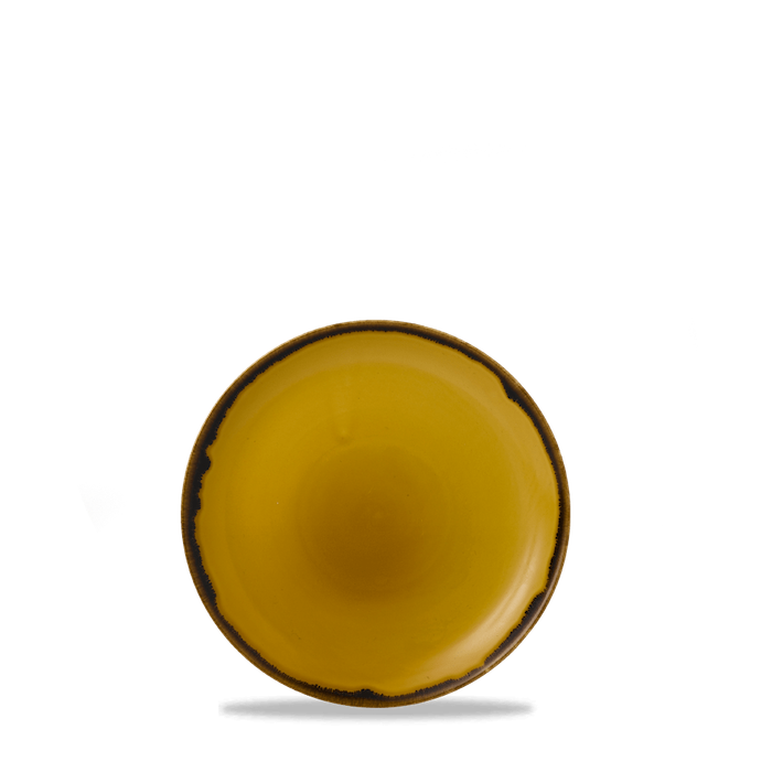 Dudson Harvest Mustard coupe bord 16,5 cm