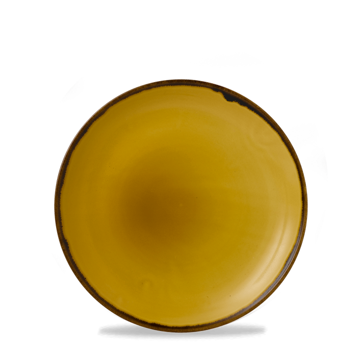 Dudson Harvest Mustard coupe bord 21,7 cm