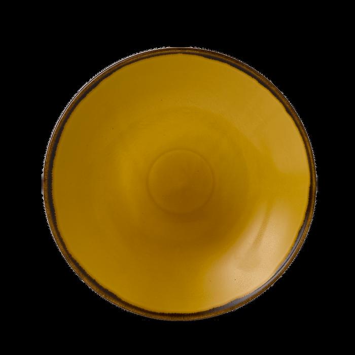 Dudson Harvest Mustard diep coupe bord 28,1 cm