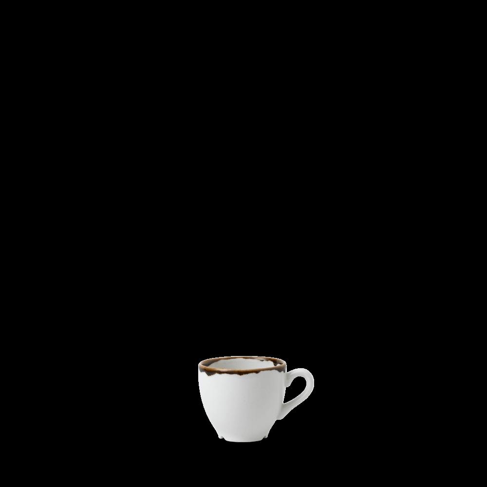 Dudson Harvest Natural espresso kop 10 cl