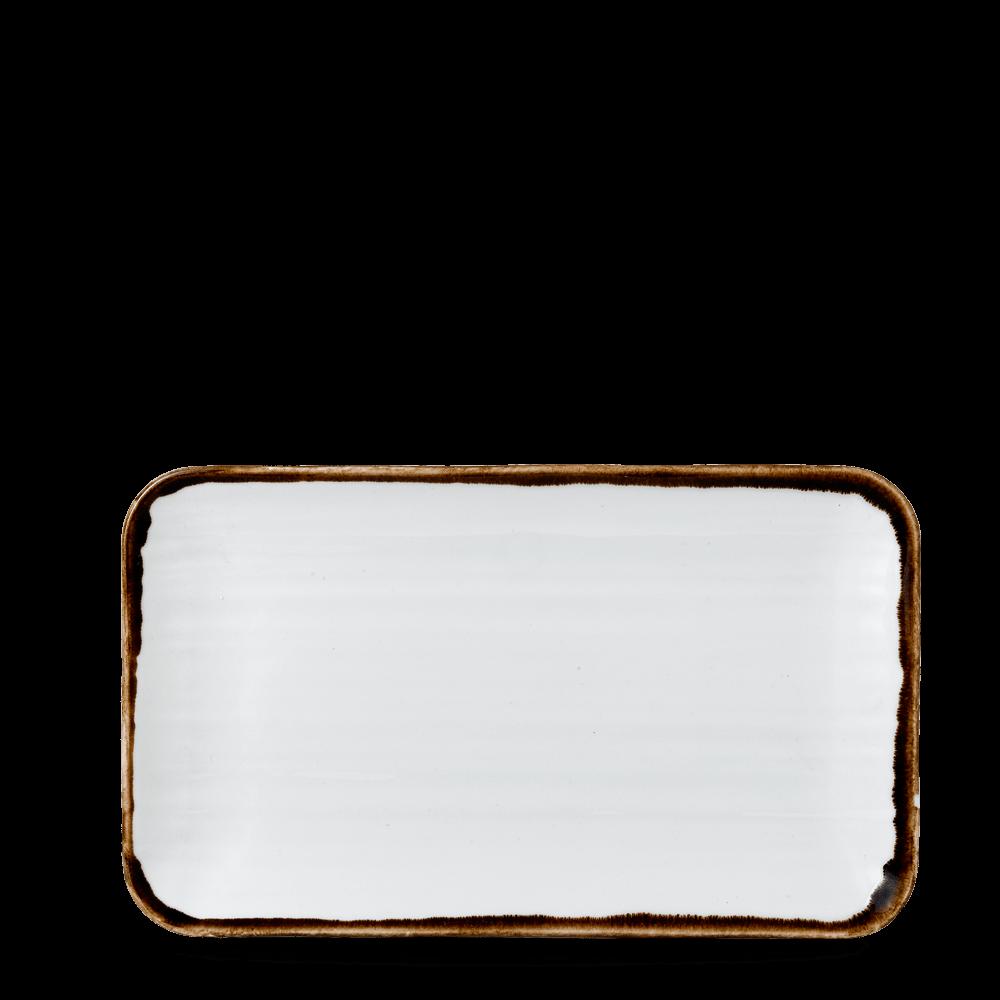 Dudson Harvest Natural organic rectangular plate 27 x 16 cm