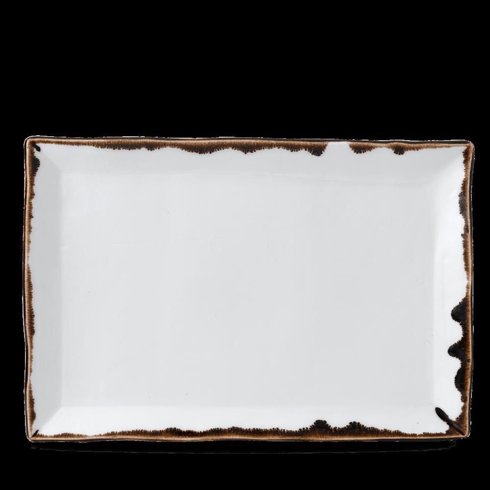 Dudson Harvest Natural chefs' rectangular tray 34,5 x 23,3 cm