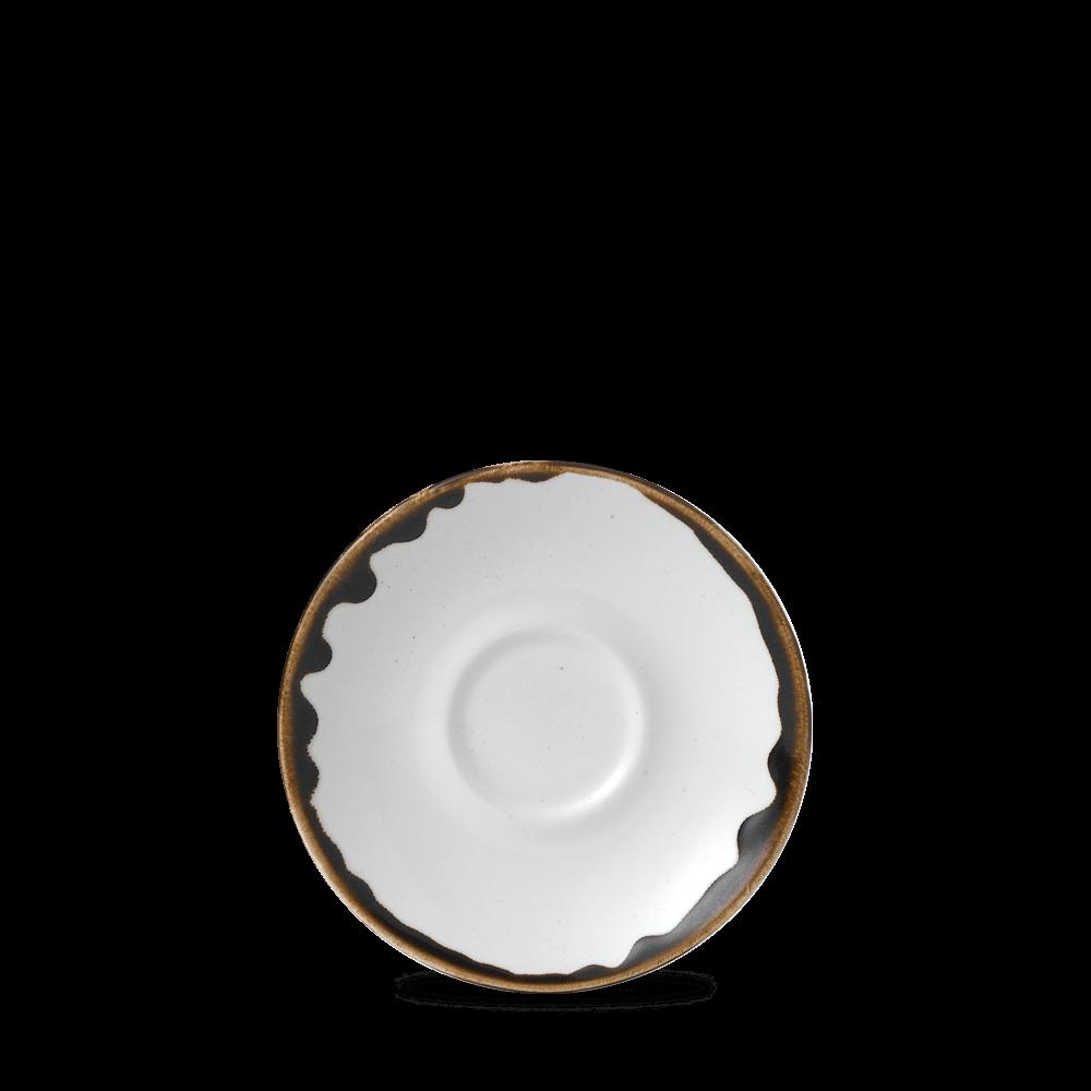 Dudson Harvest Natural espresso schotel 11,8 cm