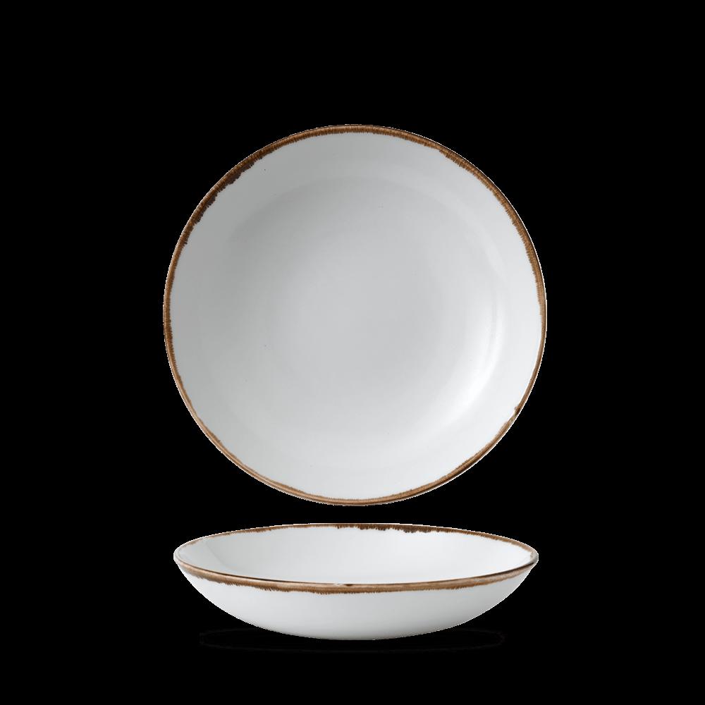 Dudson Harvest Natural coupe bowl 24,8 cm