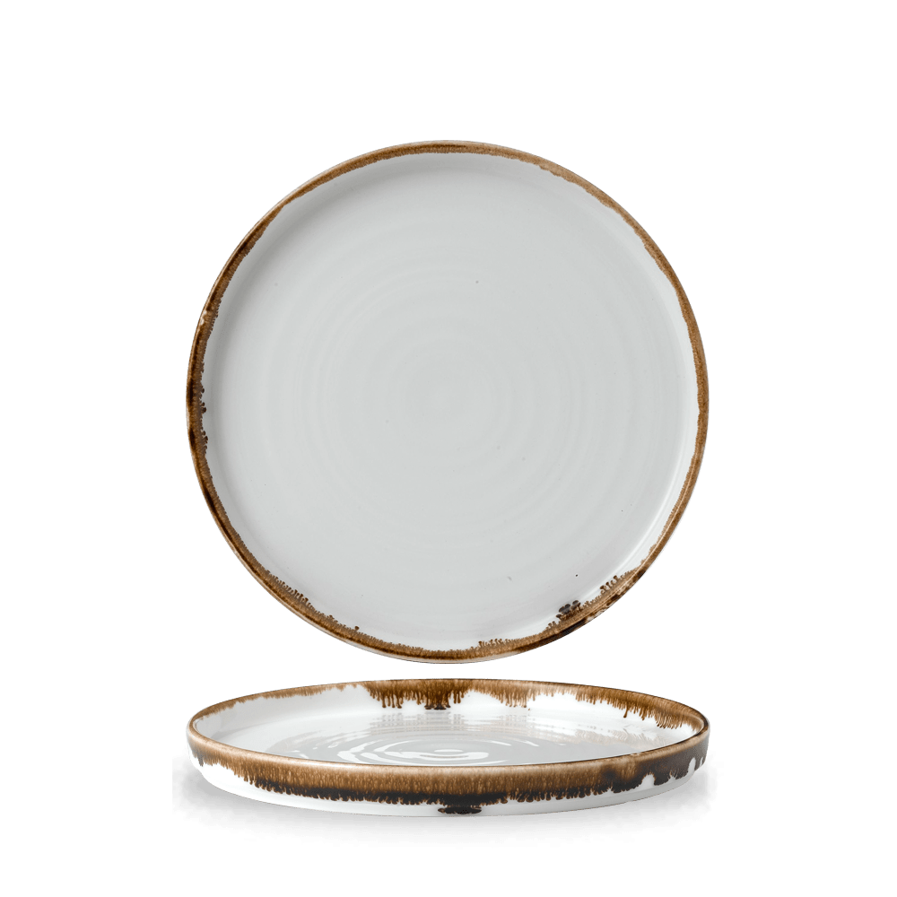 Dudson Harvest Natural walled plate 21 cm