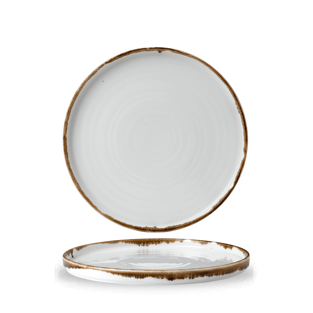 Dudson Harvest Natural walled plate 26 cm