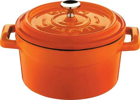 Lava Cooking * gietijzeren pannetje oranje 35 cl