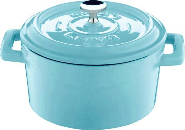 Lava Cooking * gietijzeren pannetje turquoise 35 cl