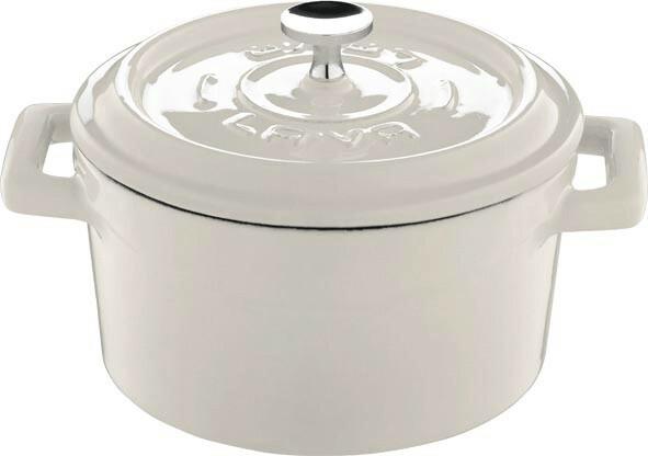 Lava Cooking * gietijzeren pannetje wit 35 cl