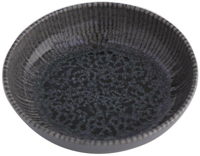 Porland Iris Grey bowl laag 17 cm 41,5 cl