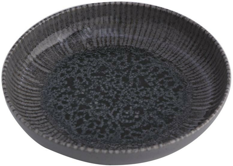 Porland Iris Grey bowl laag 22 cm 83,5 cl