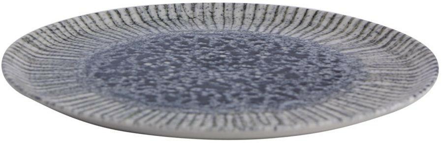 Porland Iris Blue extra plat bord 28 cm