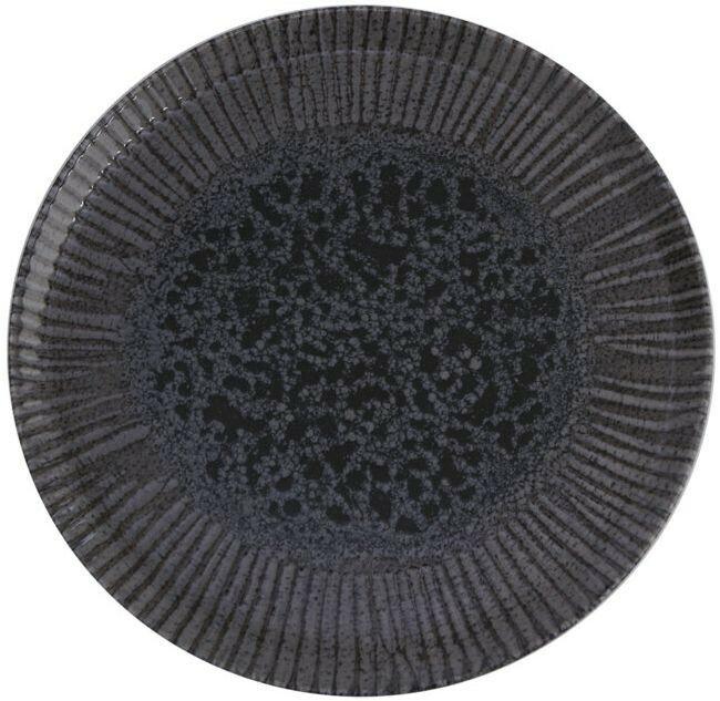 Porland Iris Grey extra plat bord 28 cm