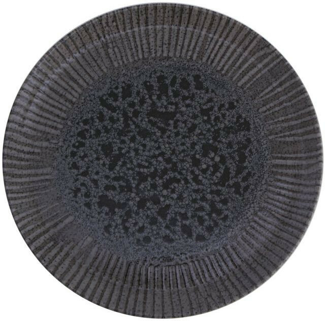 Porland Iris Grey extra plat bord 32 cm