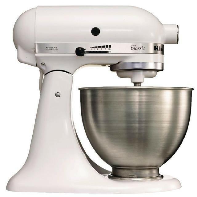 KitchenAid K45 mixer-keukenrobot 4,28 Ltr wit