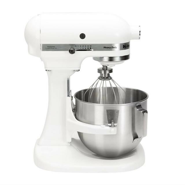 KitchenAid K5 professionele mixer-keukenrobot 4,8 Ltr wit