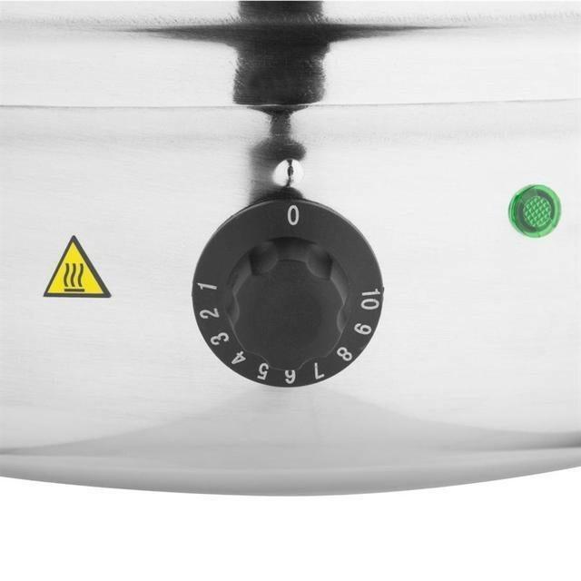 Buffalo soepketel RVS elektrisch 10 Ltr