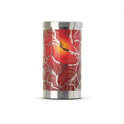 Lumea Eden Leaf Frosted Red