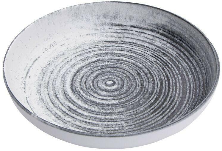 Porland Lykke Beige bowl laag 22 cm 83,5 cl