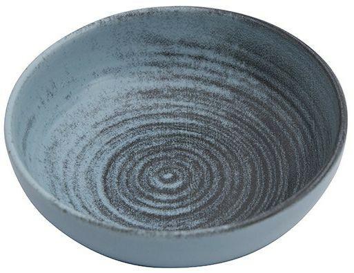 Porland Lykke Turquoise bowl laag 10 cm 9,5 cl