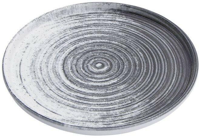 Porland Lykke Beige extra plat bord 18 cm