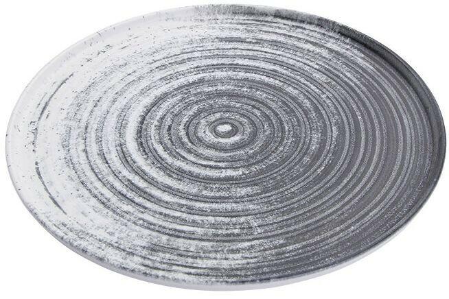 Porland Lykke Beige extra plat bord 27 cm