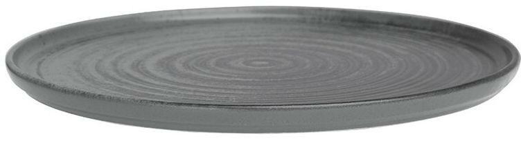 Porland Lykke Grey extra plat bord 24 cm