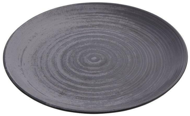 Porland Lykke Grey coupe bord 25 cm