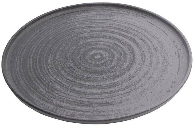 Porland Lykke Grey extra plat bord 27 cm
