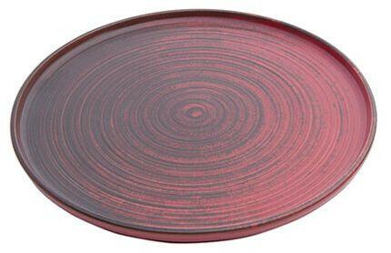 Porland Lykke Red extra plat bord 18 cm