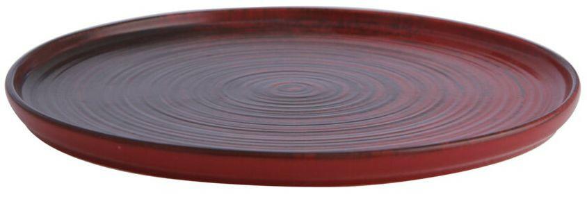 Porland Lykke Red extra plat bord 24 cm