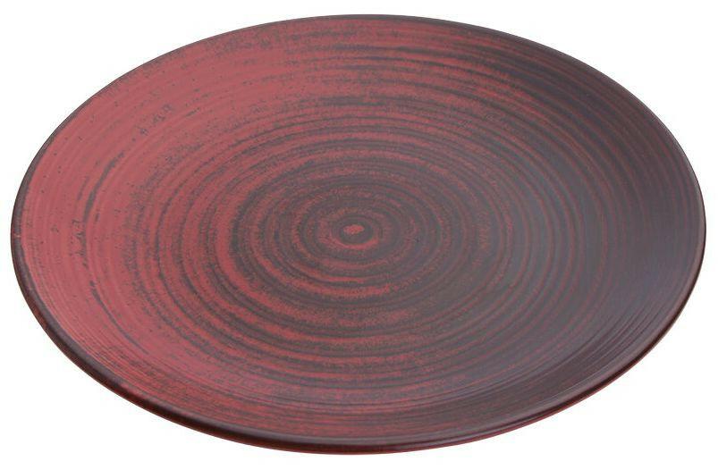 Porland Lykke Red coupe bord 25 cm