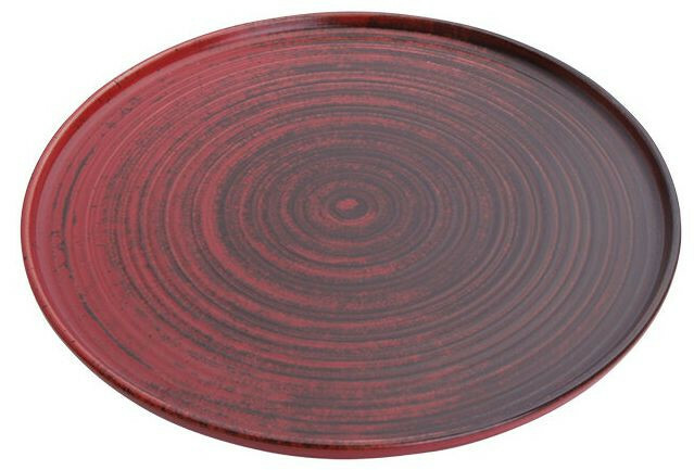 Porland Lykke Red extra plat bord 27 cm