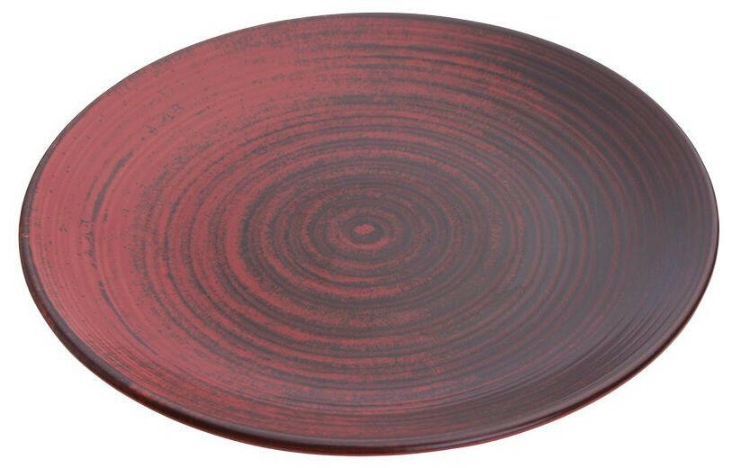 Porland Lykke Red coupe bord 31 cm