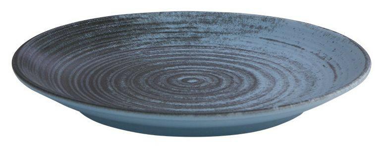 Porland Lykke Turquoise coupe bord 17 cm