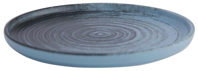 Porland Lykke Turquoise extra plat bord 18 cm