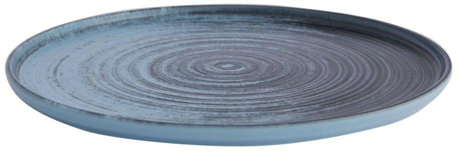 Porland Lykke Turquoise extra plat bord 30 cm
