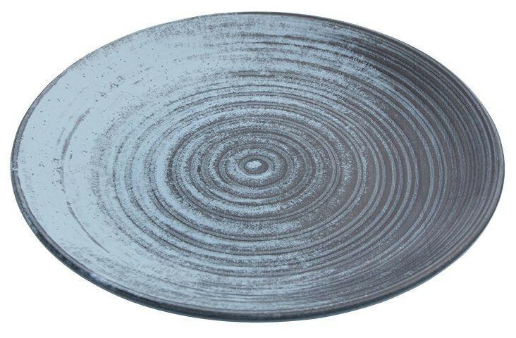 Porland Lykke Turquoise coupe bord 31 cm