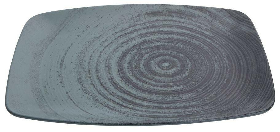 Porland Lykke Green oblong bord 27 x 19,5 cm