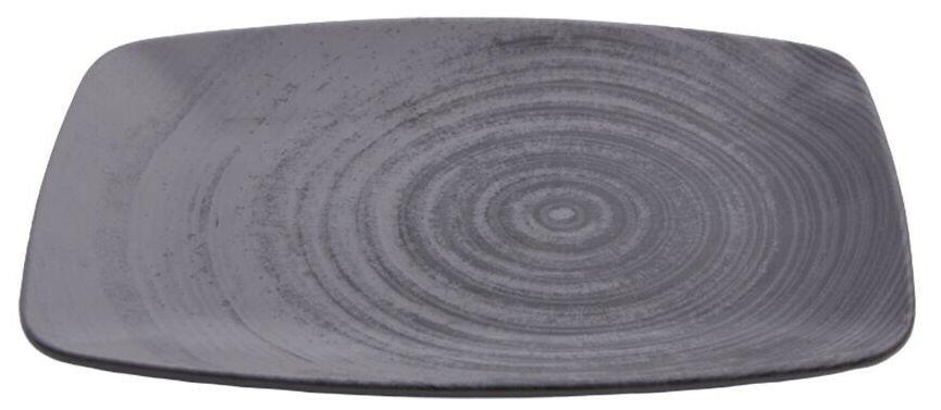 Porland Lykke Grey oblong bord 32,5 x 23 cm