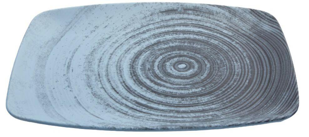 Porland Lykke Turquoise oblong bord 32,5 x 23 cm