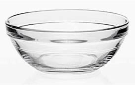 Duralex Lys schaal glas Ø 7,5 cm DOOS 4