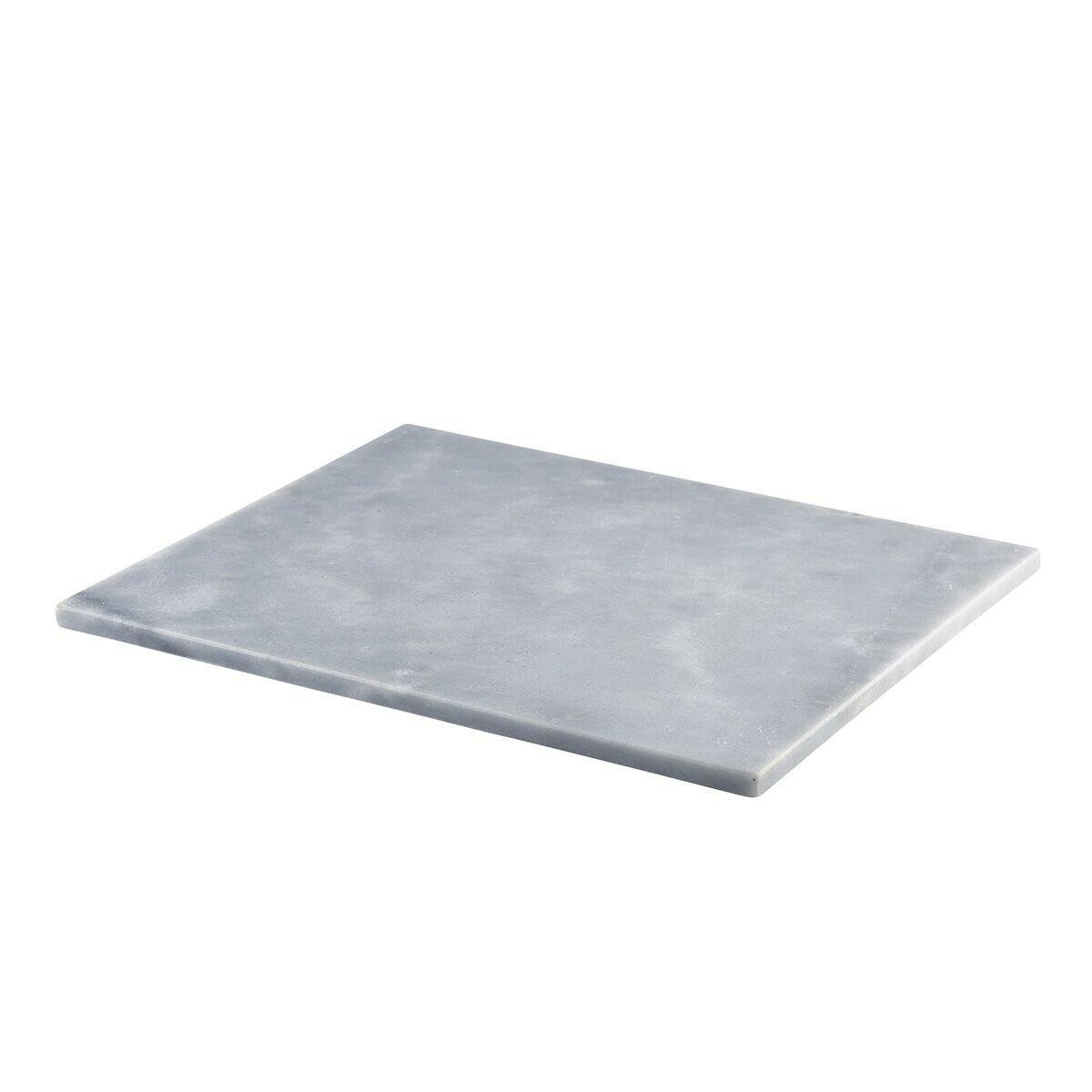 grijs marmeren plateau GN 1/2 32 x 26 cm met voetjes