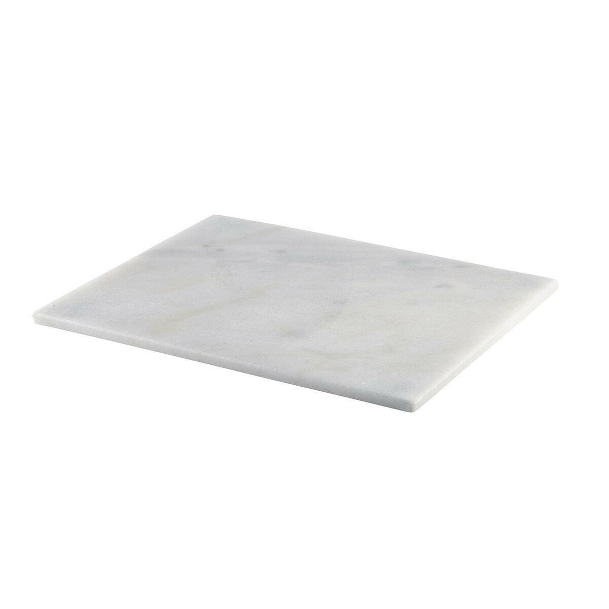 wit marmeren plateau GN 1/2 32 x 26 cm met voetjes