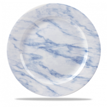 Churchill Textures bord plat 30,5 cm blue marble