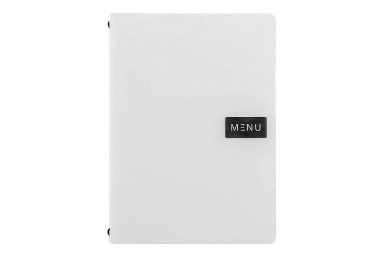 Securit menumap Raw A4 wit leer 24,6 x 33,2(h)cm