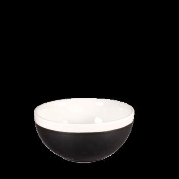 Churchill Monochrome onyx black bowl 47 cl